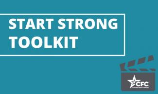 Cover image of the Start Strong Toolkit